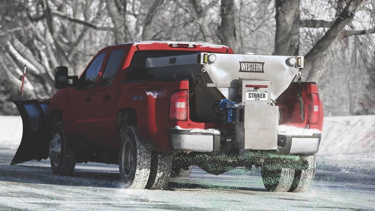 Ice Control - Salt Spreaders for Sale